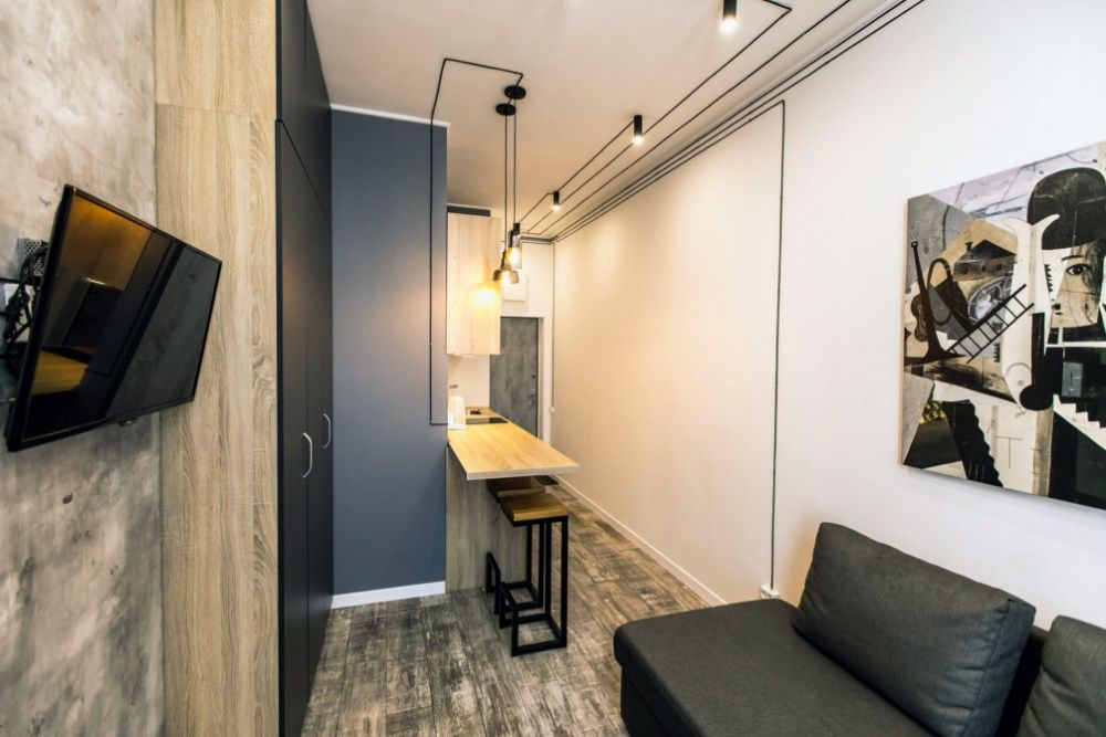 Smart студия близко к Мост Сити(квартира посуточно)-1