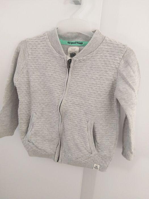 Sweterek rozpinany zara Biała - image 1