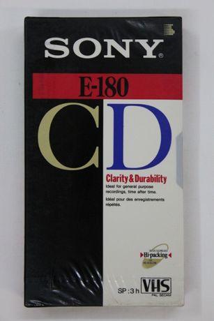 Видеокассета / video cassette SONY E-180 CD made in U.S.A (новая)