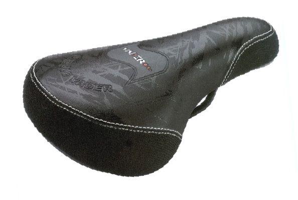 Siodło BMX VD 725 VD725 VADER (225x145) logo VADER czarne inbike siode