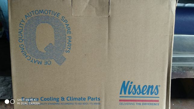 Радиатор отопителя Ланос, Сенс алюминиевый NISSENS (печки)