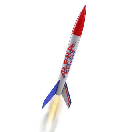 Летающая модель ракеты Alpha от Estes