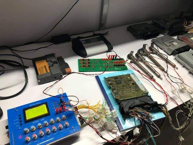 Naprawa sterowników ECU, chiptuning zdalny, wysyłkowy. Chip tuning.