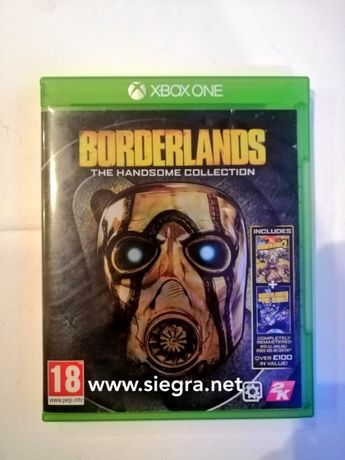 borderlands the nahdsome collection xbox one