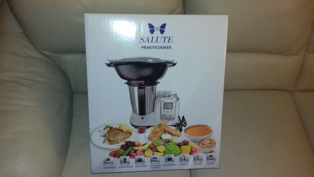 robot kuchenny prakticooker SALUTE NOWY jak TERMOMIX
