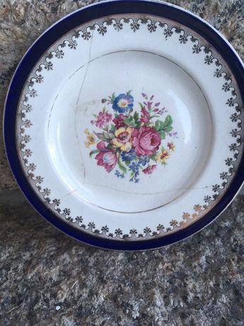 (Raro) prato decorativo Washington Pottery- english rose