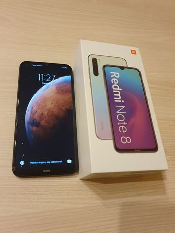 Xiaomi Redmi Note 8 BLACK Dual SIM na gwarancji 2020 MI Polska