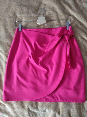 Różowa spódnica orsay