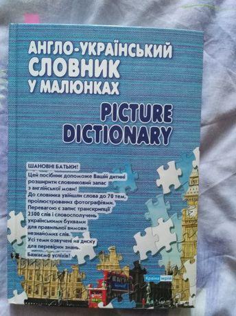 Книга- словарь. Твердый переплет.