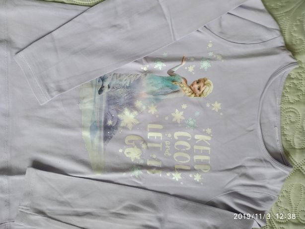 Bluzki z H&M Kraina lodu 122/128