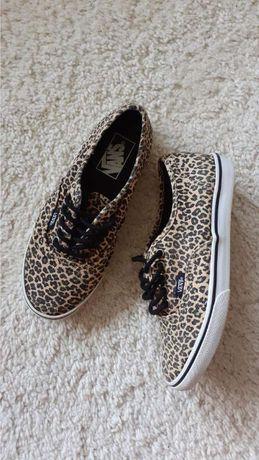 Кеды vans леопард