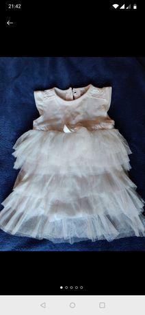 Нарядное боди-платье, платьице F&F