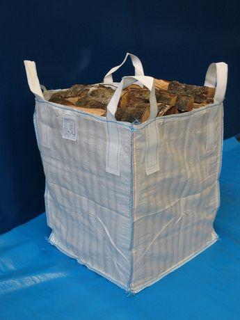 Worki Big Bag do drewna trocin 1000kg wysokośc 120cm Mocne HURT