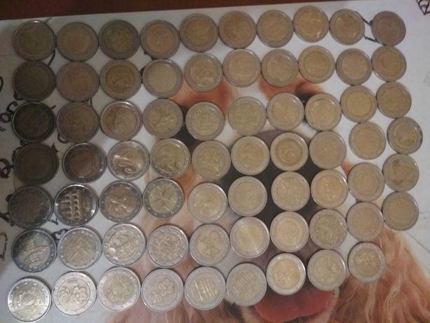 Coleção moedas 2€ (lista na descrição)