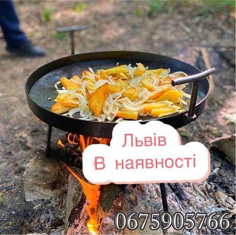 В наявності!! Сковорода, борона, садж, мангал, сковорідка