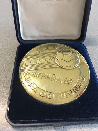 Medalha comemorativa - Copa Mundo 82 Espanha