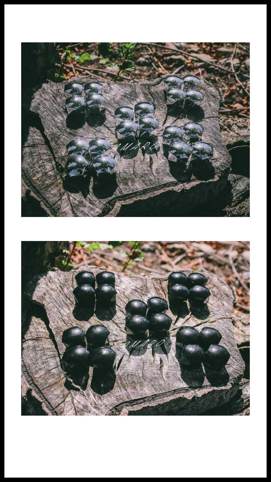 20 Tampas de Porcas de Roda Jante de Carro (2 Cores, 17mm, 19mm)