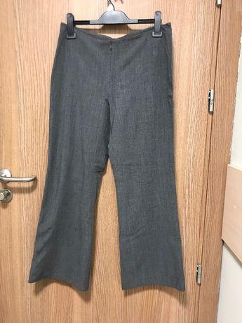 Mark & Spencer szare spodnie wizytowe r. 42 podkreślają sylwetkę