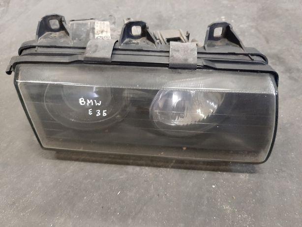 Lampa reflektor prawa przód BMW e36