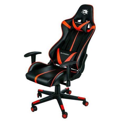 Fotel gamingowy Blitzwolf BW-GC7 czarny czerwony nowy