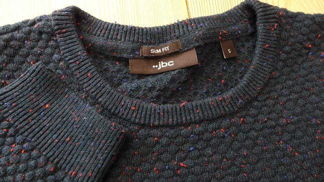 JBC melanżowy sweter miejski zamiast bluzy S SLIM Massimo Dutti Zara