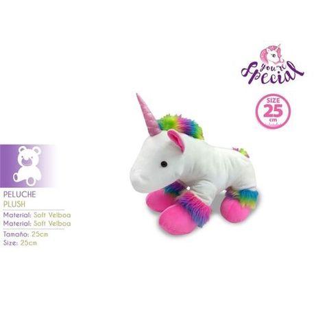 Peluche unicornio 25cm