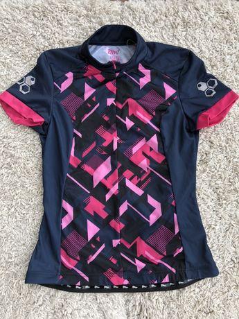 Вело  спортивна кофта футболка трико