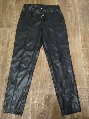 Штаны эко-кожа 46 размер