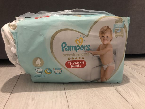 Pampers pants 4 pieluchomajtki premium care 38 szt