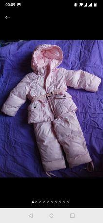 Пуховый зимний комбинезон, куртка и комбинезон на зиму ADD