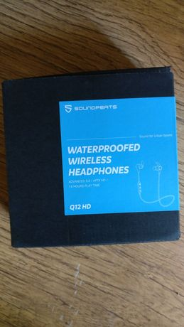 Bezprzewodowe słuchawki Soundpeats Q12 HD