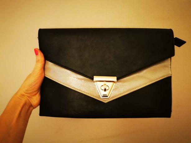 kopertówka tania stylowa piękna stylowa torebka jak nowa