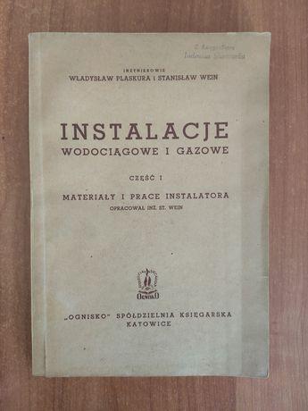 Instalacje wodociągowe i gazowe- Plaskura, Wein