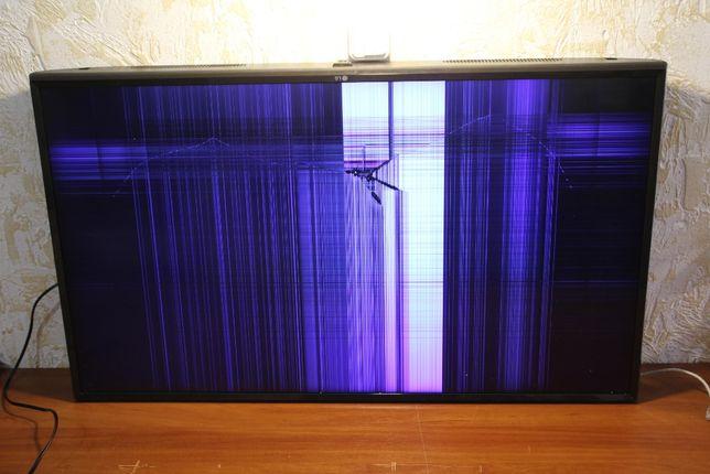 """Битый экран! 43"""" LG 43UJ630V. На разборку."""