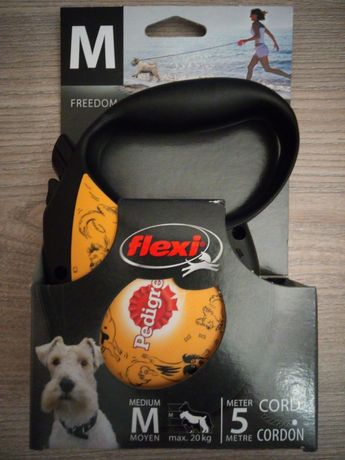 Smycz automatyczna FLEXI 5 metrów dla psa do 20 kg