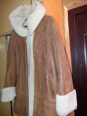 дубленки натуральный мех овчинка капюшон