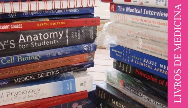 Vendo Livros de Medicina (Usado)