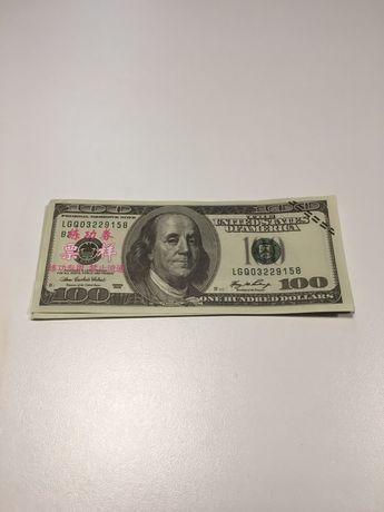 Notas 100 USA Dólares de brincar