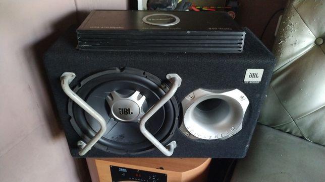 Сабвуфер JBL GT5-1204BR  blaupunkt gta 470 Mustic 840 watt