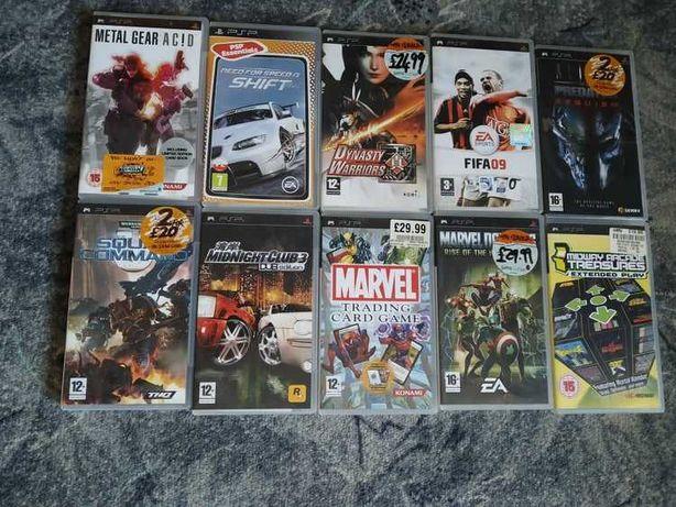 Gry i filmy na konsolę PSP
