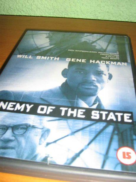 """film DVD """"ENEMY OF THE STATE"""" Wróg publiczny, angielska wersja"""