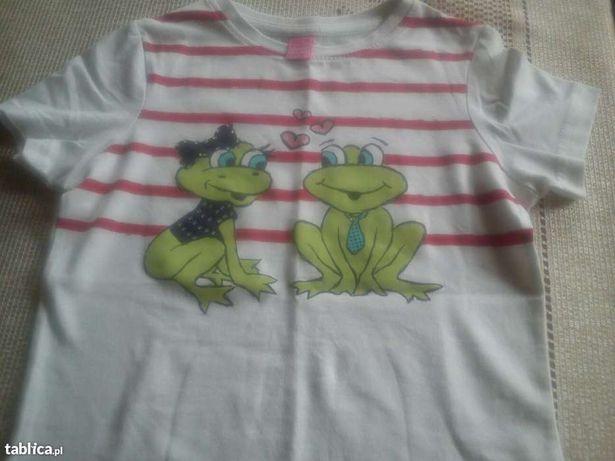 Bluzeczka żabki dla dziewczynki