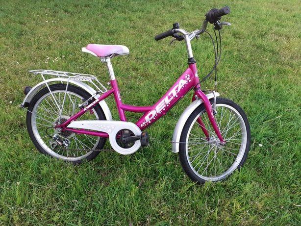 Rower 20 calowy dla dziewczynki