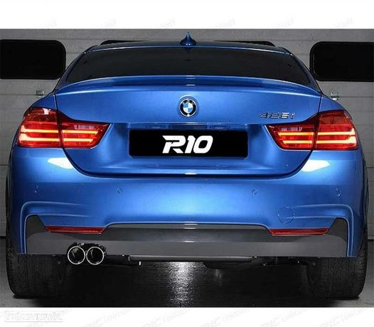 PÁRA-CHOQUES TRASEIRO PACK M BMW SERIE 4 F36 2013 COM PDC