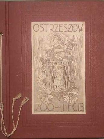 Ostrzeszów Antoni Serbeński Teka Ostrzeszowska unikat drzeworyt