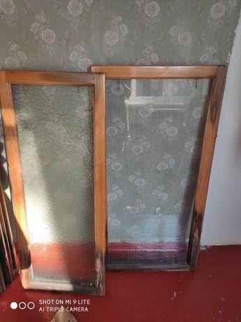 Рама балконная деревянная