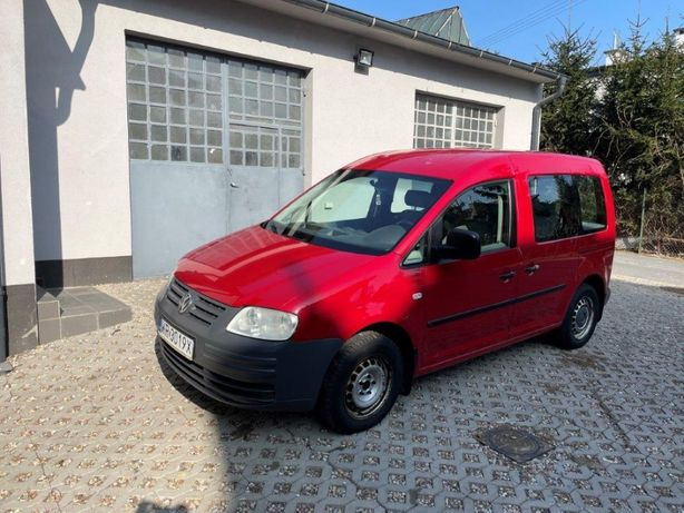 Volkswagen VW CADDY 2.0 SDI Salon Polska FV 23%