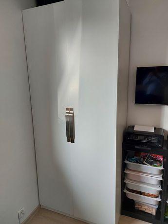 PAX / SLENESET  IKEA Kombinacja szafa, biały 100x60x23 SUPER STAN