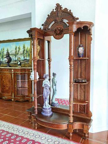 Imponente espelho Louis XIV 2.30m