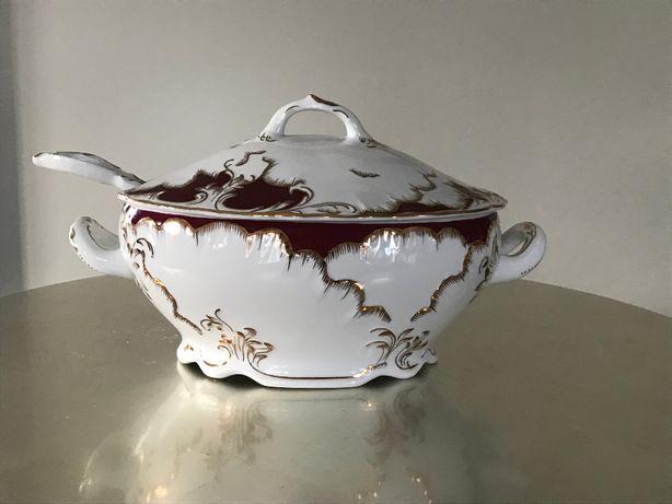 SPRZEDAM na sztuki : Porcelanę Ćmielów Rococo Purpura / 20 osób